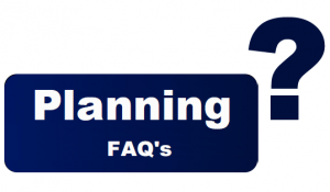 Planning FAQ's