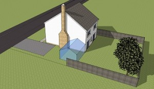 Planning Permission for conservatory to side of house