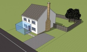 Planning Permission for Extension to Front of House