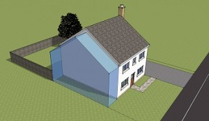 Planning permission 2 Storey Side Extension
