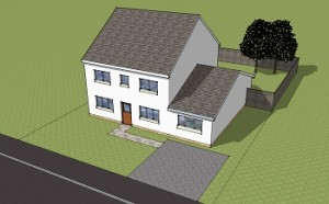 Planning permission Garage conversion after