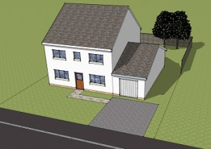 Planning permission Garage Conversion before