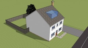 Planning permission Loft Conversion Dormer to Front