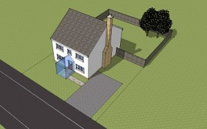 Planning permission Porch no Planning required